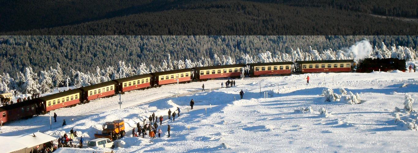 Führerstandsmitfahrt im Harz